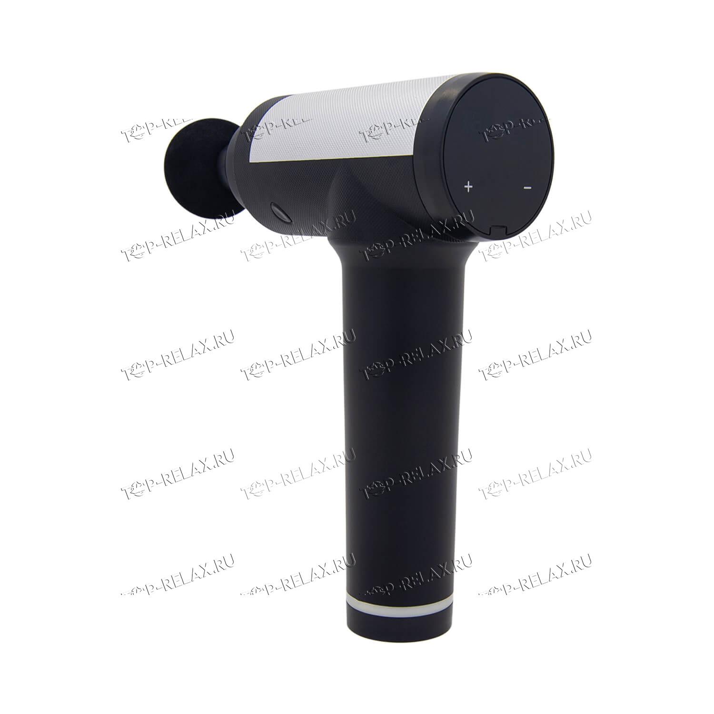 Массажер Fascial Gun PR03 4 насадки 12V LCD touch screen - 2