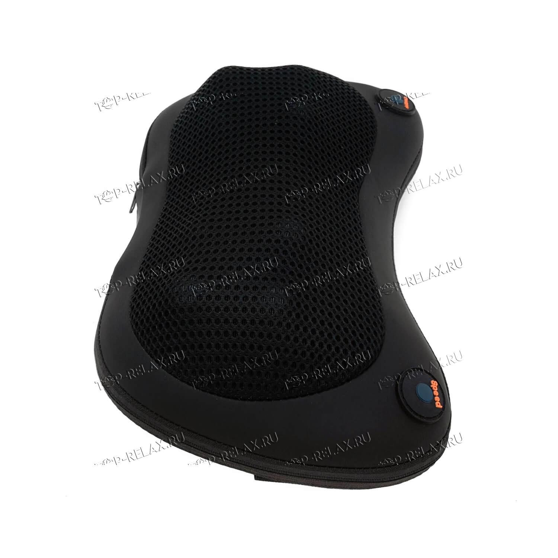 Массажная подушка RELAX PILLOW чёрная (HYS 368) - 3